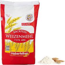 weizenmehl 25kg typ 405 glatt haberfellner hochwertiges mehl zum backen und kochen ohne gentechnik und pestizid kontrolliert geeignet als