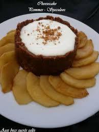 dessert aux pommes sans cuisson cheesecake pommes speculoos sans cuisson recette ptitchef