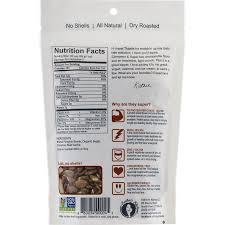 Roasted Shelled Pumpkin Seeds by Superseedz Gourmet Pumpkin Seeds Cinnamon U0026 Sugar U2013 Healthy