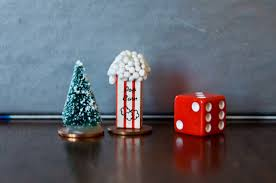 We Also Personalized Game Pieces That Are Meaningful To Our Family My Dad Swears Every Year The Christmas Tree Grows On Way Home From Forest