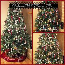 Color Vs Clear The Great Christmas Tree Light Design Ideas For Your Inspiration Plus Balsam Hill