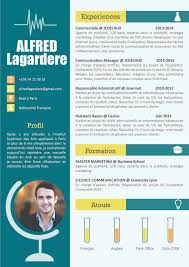 37 best cv modernes images on mbti and resume