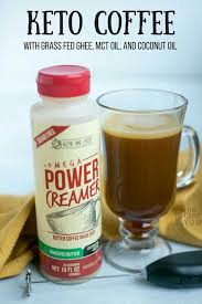 Learn How To Make A Power Creamer Ketogenic Coffee The Easy Way With Omega