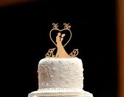 Wedding Cake Topper Bride And Groom Rustic Mr Mrs