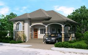 The House Design Storey by Phd 2015022 Elevated One Storey House Design House