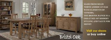 Bristol Oak Dining Living Furniture