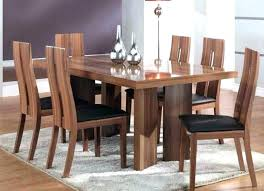 Solid Wood Kitchen Tables Dining Room Pretty Furniture Thick