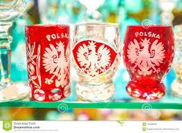 100 Poland Glass The Souvenir Es From Krakow Stock Image Image