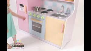 Kidkraft Grand Gourmet Corner Kitchen Play Set by Kidkraft Large Pastel Kitchen 53181 Perfect Wooden Kitchen