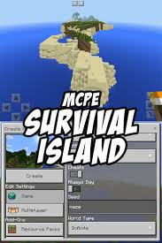 Minecraft Pumpkin Seeds Pe by A Great Survival Island Seed For Minecraft Pocket Edition Good
