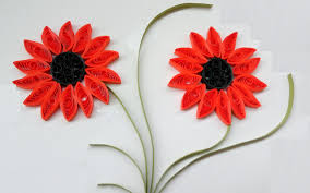 How To Make Paper Quilling Flower Designs