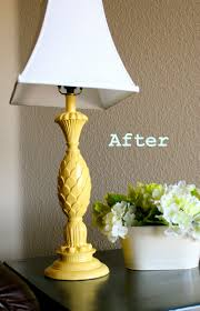 Uncategorized Diy Lamp Base Remodelaholic Upcycled Chandelier Spray Painted Featured On