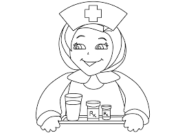 Fresh Nurse Coloring Pages Ideas For Your KIDS