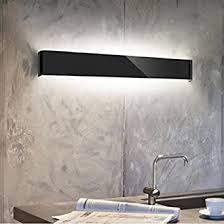 ac85 265v led wandleuchten schwarz weiß modern einfach