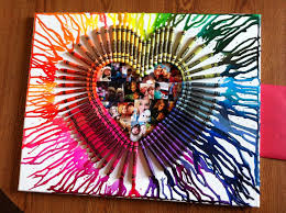 Melted Crayon Heart I Made For Valentines Day My Boyfriend All You Do