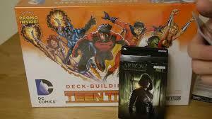 unboxing dc comics deck building crossover expansion pack 2