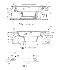 Wade Floor Drains Uk by Patent Us8146308 Floor Drain Support Plate Google Patents