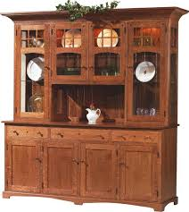 Amish Royal Santa Fe Four Simple Dining Room Hutch And Buffet