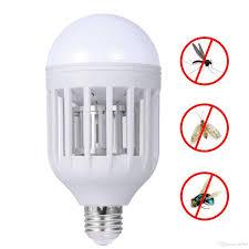 2018 mosquito killer led bulb 220v 15w led bug zapper l e27