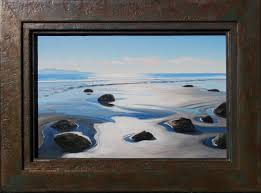 100 Santa Barbara Butterfly Beach Reflecting Sand Beach John Grandfield Fine Art