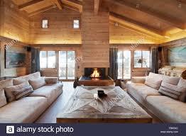 chalet gstaad wohnzimmer innenräume schweiz architektur