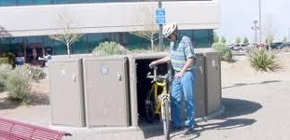 Bicycle Storage Locker Absc301P Pl01