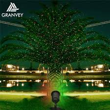 Outdoor Laser Projector Glow House Bright Led Sculpture Christmas Tree Light