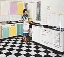 küchen möbel 50er