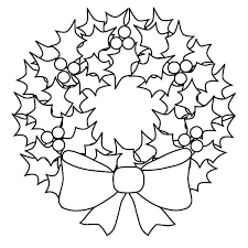 Christmas Wreaths How To Draw Coloring Pages