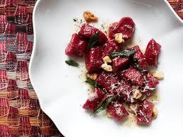 Pumpkin Gnocchi Recipe Uk by Beet Gnocchi With Walnut Sage Butter Recipe Jenn Louis Food U0026 Wine