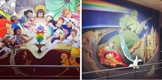 Denver Airport Murals Conspiracy Theory by 17 Scary Conspiracy Theories You U0027ll Wish You U0027d Never Heard Of