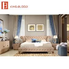 luxus italienischen schlafzimmer set möbel könig größe