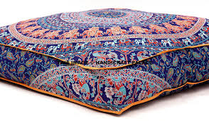 Oversized Throw Pillows For Floor by Amazon Com Large Indian Meditation Floor Pillow Cover 35