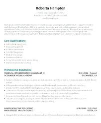 Sample Resume For Executive Assistant Administrative In India