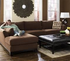 Room Ideas With Brown Sectionals