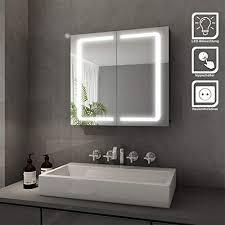 galdem elegance spiegelschrank 70cm badezimmerschrank