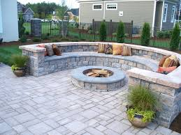 Patio Ideas ~ Backyard Concrete Patio Ideas Backyard Concrete ... Backyard Concrete Patio Designs Unique Hardscape Design Ideas Portfolio Of Twin Falls Services Garden The Concept Of Concrete Patio With Fire Pits Pictures Fire Pit Sitting Wall Home Decor All Gallery Stamped Banquette Fancy For Small Backyards 39 About Remodel