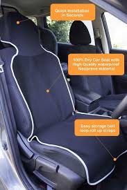 Amazon.com: Neoprene Car Seat Cover Waterproof - Removable & Machine ...