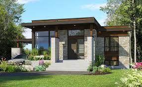 100 Modernhouse Plan 90262PD Compact Modern House Plan Barn Storming Small