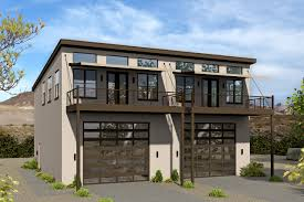 100 Contemporary Duplex Plans 16668 The House Plan Company