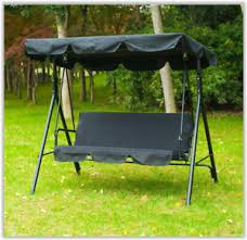 Image Is Loading Outdoor Canopy Chair Garden Swing Seat Hanging Chairs