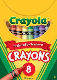 Crayola Bathtub Crayons 18 Vibrant Colors by Amazon Com Crayola Classic Color Pack Crayons Tuck Box 8 Colors