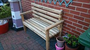 diy wooden bench on a budget garden project for smart gardeners