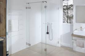 transparent die erste dusche ohne dichtungen