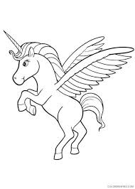 Baby Pegasus Coloring Pages For