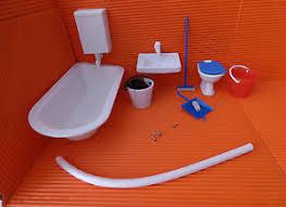 ddr vero für puppenstube badezimmer putzset ovp ebay