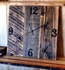 Rustic Barnwood Clock Large Barn Wood Clock By TheRusticPalette On ... Rustic Wall Clock Oversized Oval Roman Numeral 40cm Pallet Wood Diy Youtube Pottery Barn Shelves 16 Image Avery Street Design Co Farmhouse Clocks And Fniture Best 25 Large Wooden Clock Ideas On Pinterest Old Wood Projects Reclaimed Home Do Not Use Lighting City Reclaimed Barn Copper Pipe Round Barnwood Timbr Moss Clock16inch Diameter Products