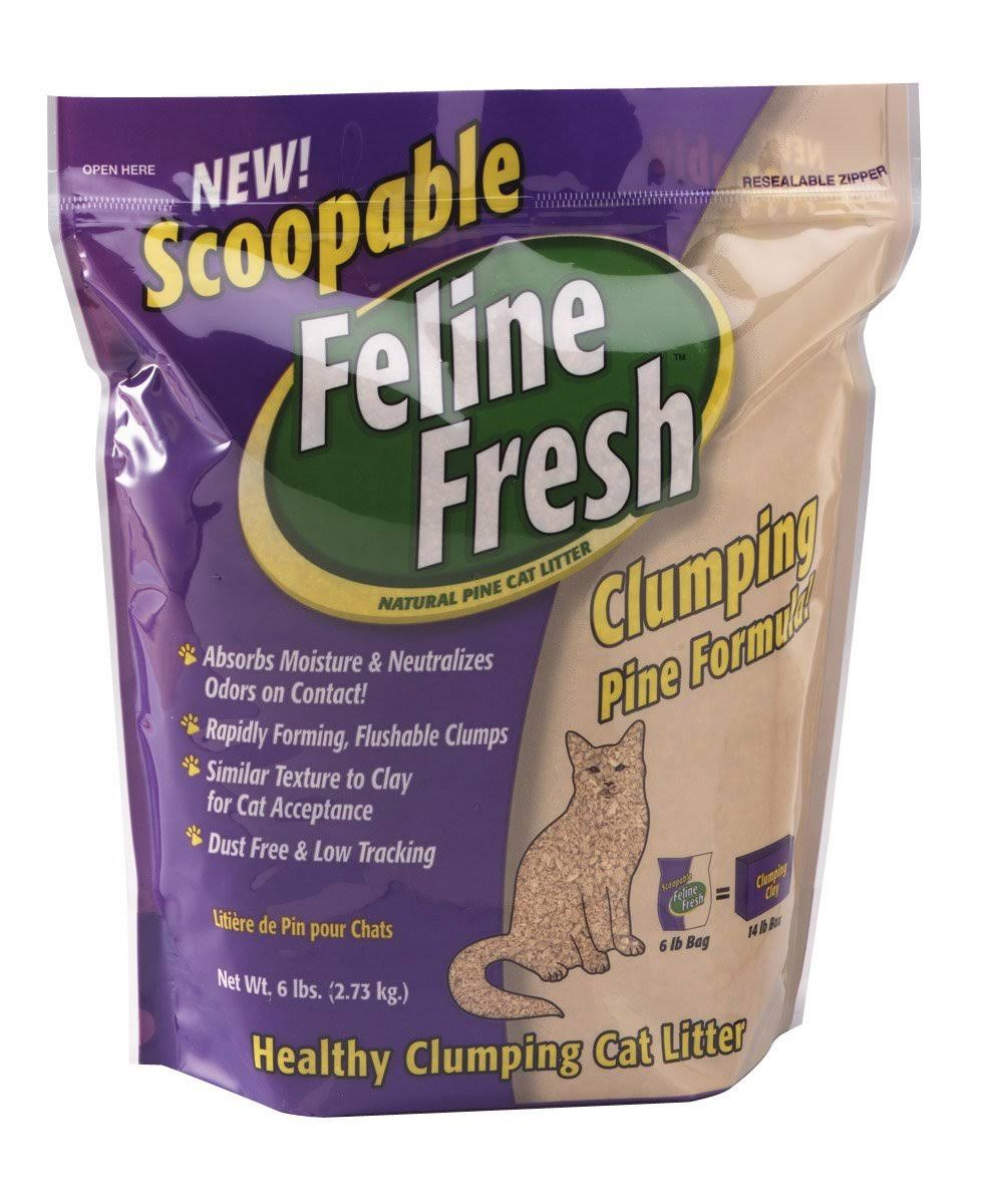 Feline Fresh Clumping Cat Litter - Pine