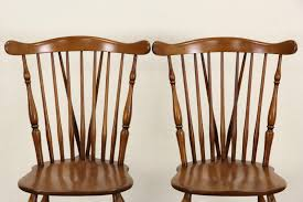 Heywood Wakefield Chairs Antique by Sold Heywood Wakefield Signed Set Of 8 Windsor Vintage Maple
