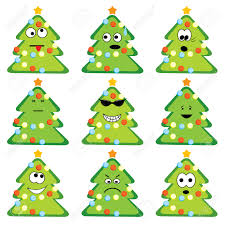 Flocked Christmas Trees Baton Rouge by Pictures Of Cartoon Christmas Trees Christmas Lights Decoration